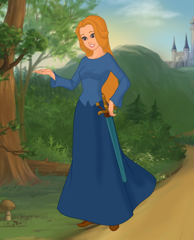 Disney's The Wild Swans (2004) Elisa 2nd by Hillygon