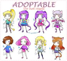 50points AdoptableS:Closed by VanileCream