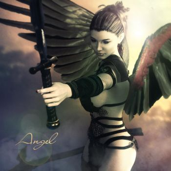 -Angel- by 35-Elissandro