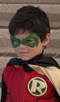 Damian Wayne Robin Close-up by ComicChic19