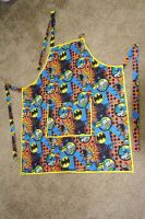 Batman and Joker Apron by InAnotherCastle