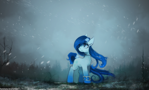 First Snow by FoxInShadow