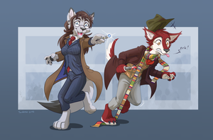 Doctor Duo by TimWeeks