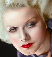 Jean Harlow by Cspringer