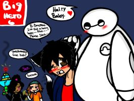 Big Hero 6: Hairy Baby by YaoiLover113