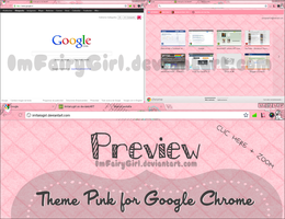 Theme Pink Chrome by Imfairygirl