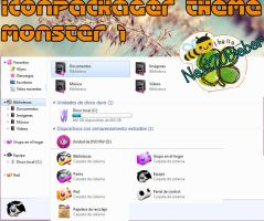 IconPackager theme: Monsters 1 by Cursorsandmore