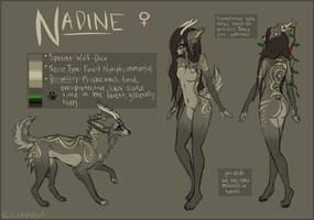 Nadine Reference by Cappygal