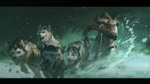 Abomination : DogSled Run by MaxD-Art