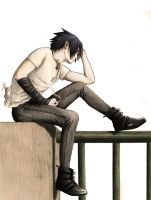 Sasuke Waiting for death II by SasukeRoxMySox2