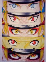 Naruto evolution by Raijin89