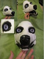 SOLD: Decked out canine mask by BlueWolfCheetah