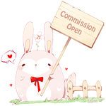Free Button: Commission Open by Shatik