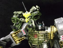 Grimlock and Guzzle, Decepticons nightmares by forever-at-peace