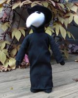 small plague doctor doll by silentorchid