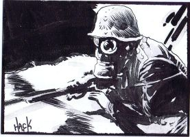 Cult Stuff WWI sketchcard 4 by RobertHack