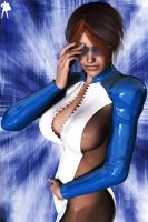 Future Blue by Supro3D