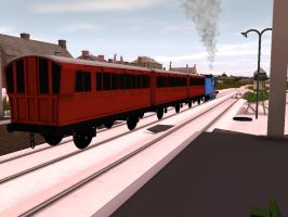 Baked Branchline Coaches :) by TheDirtyTrain1