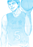 W.I.P Aomine by Phinnimonster