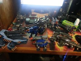 spare zoids up for sale and/or commission painting by Ozzlander