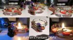Witchy Tealight Holder by Frogata