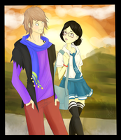 .:Ares And Ruka:. by alexpc901