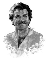 DSC Magnum P.I. - Tom Selleck by youngartt