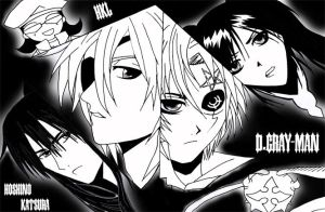 D.Gray-man Characters by HikaruKibou
