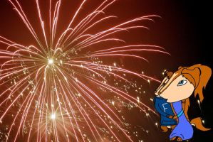 Chloe and Forest Fireworks by ChloeChipette