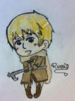 APH-chibi Russia by Dorothyy98