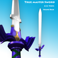 The True Master Sword by craftsmanbeck
