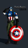 Captain America IH Design by IHComicsHQ