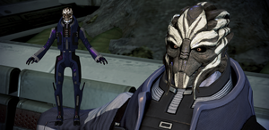 General Oraka from Mass Effect 3 for XNALara by Melllin