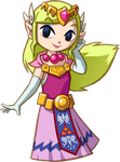 Spirit Tracks Princess Zelda by ToonPrincessZelda43