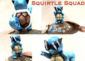 Squirtle Squad Figurine by GandaKris