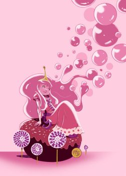 Princess Bubblegum by mikemaihack