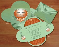 Wedding invitation 2 by owdesigns