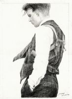 Johnny Depp Dillinger by amoykid