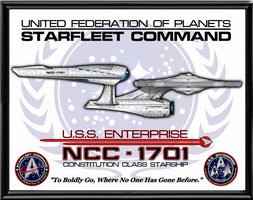 TOSR Enterprise Poster by viperaviator
