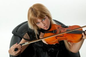 Tanit-Isis Violin close up by tanit-isis-stock