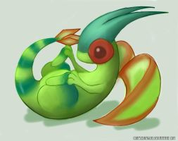 Flygon - Repaint by Spirit-Candy