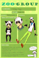 ZooGroup - Panda en cautiverio by Hep-Hap
