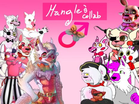 Big Male Mangle Collab by Hiyoko-little-chick