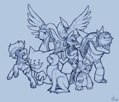 TF Pokemon Group by Nolhyaa