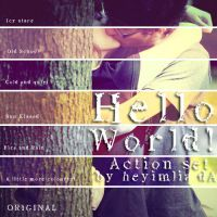 Hello World Action Set by HeyImLia