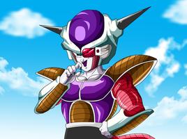 Frieza the Powerful Maniac by Ninja-Master-Tommy