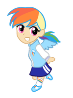 My Little Chibi Rainbow Dash by CardcaptorKatara