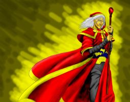 Raistlin Majere by slavewagestudios