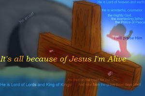 All Because of Jesus by Colliequest