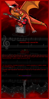 Infernos Rockn Journal Skin by DragonsFlameMagic